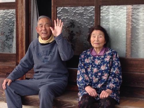 いつまでも幸せな老夫婦