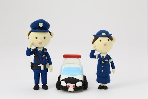 警察官とのお見合い